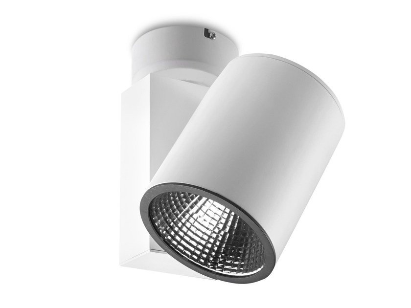 LED adjustable aluminium ceiling lamp MAXI BASE by LED BCN