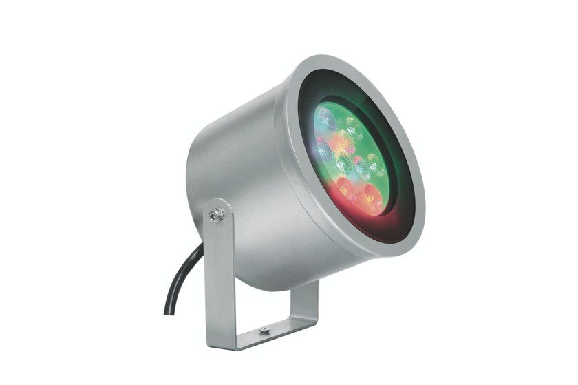 RGB LED steel underwater lamp MAXIEGO F.4962 - Francesconi & C.