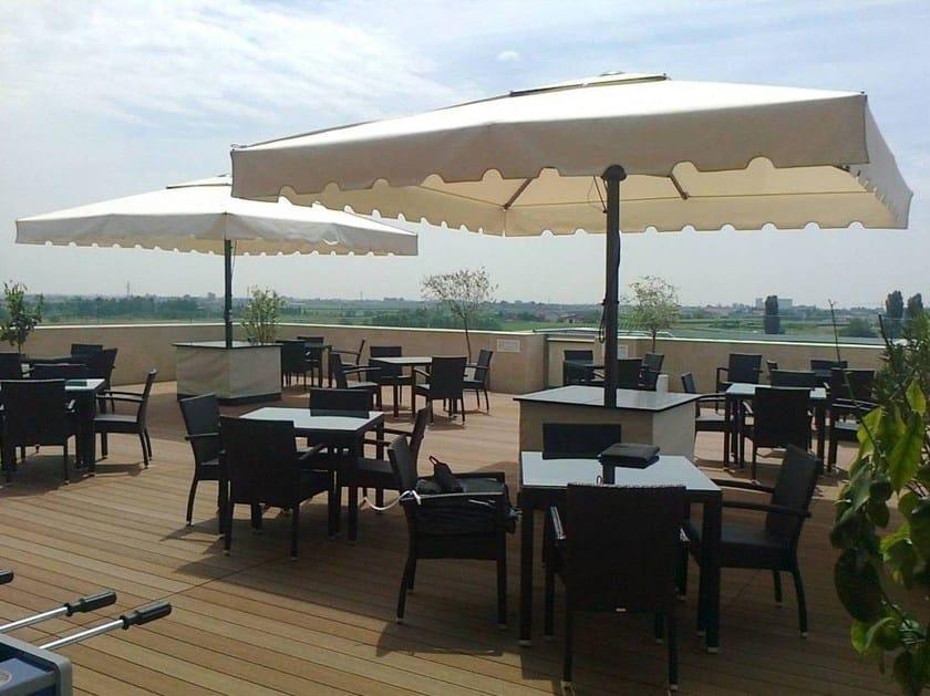 Square contract umbrella MAXIPRO - GAGGIO