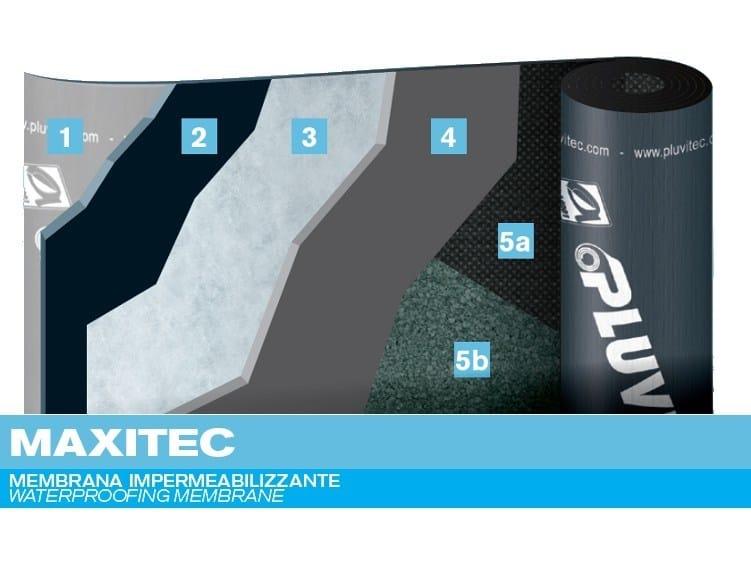 Prefabricated bituminous membrane MAXITEC - PLUVITEC