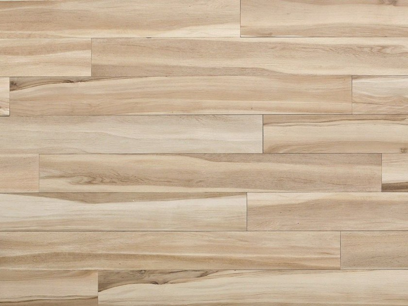 Glazed stoneware wall/floor tiles with wood effect MAXIWOOD LIVING Betulla avorio - Impronta Ceramiche by Italgraniti Group