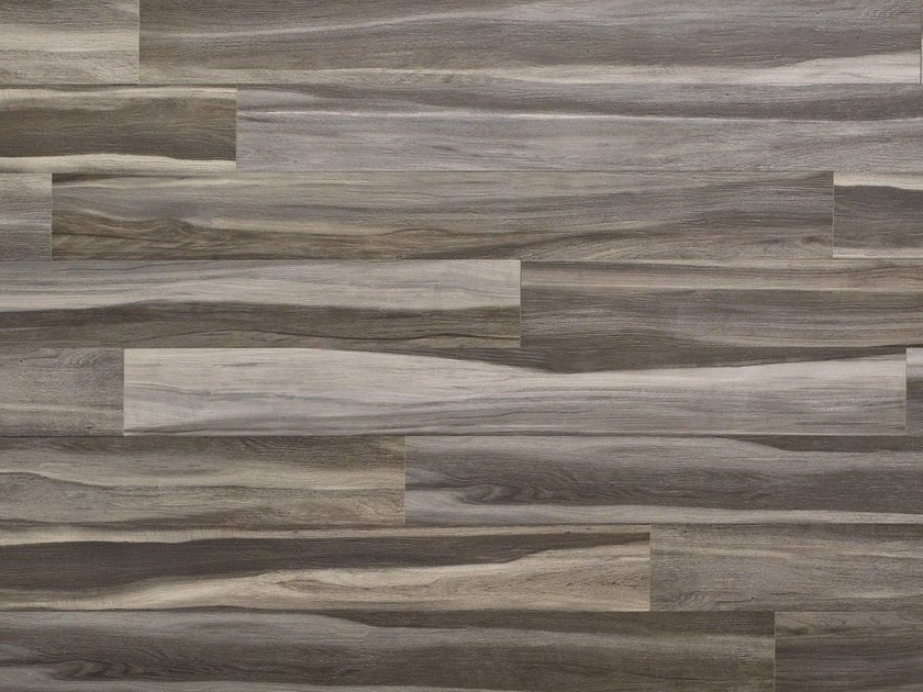 Glazed stoneware wall/floor tiles with wood effect MAXIWOOD LIVING Palissandro grigio by Impronta Ceramiche