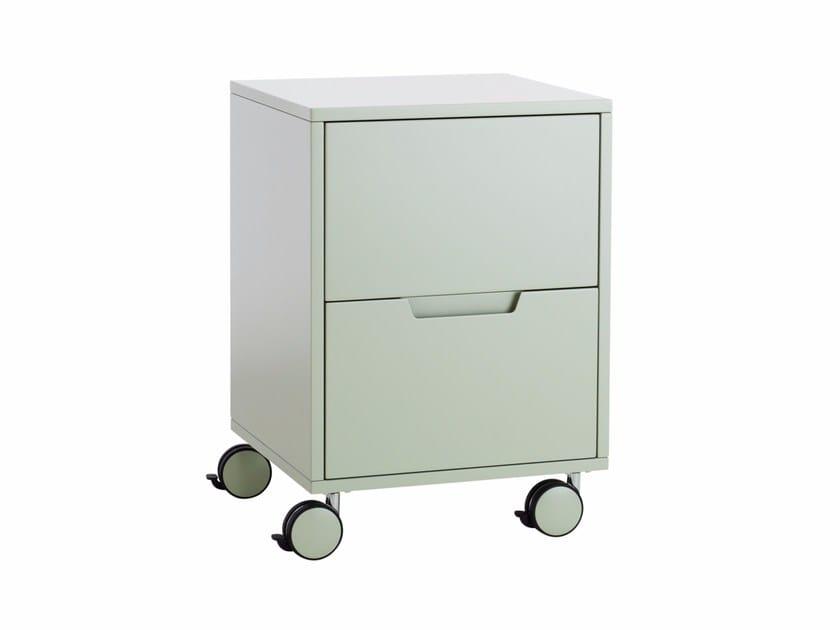 may kommode auf rollen by karl andersson design patrik hansson. Black Bedroom Furniture Sets. Home Design Ideas