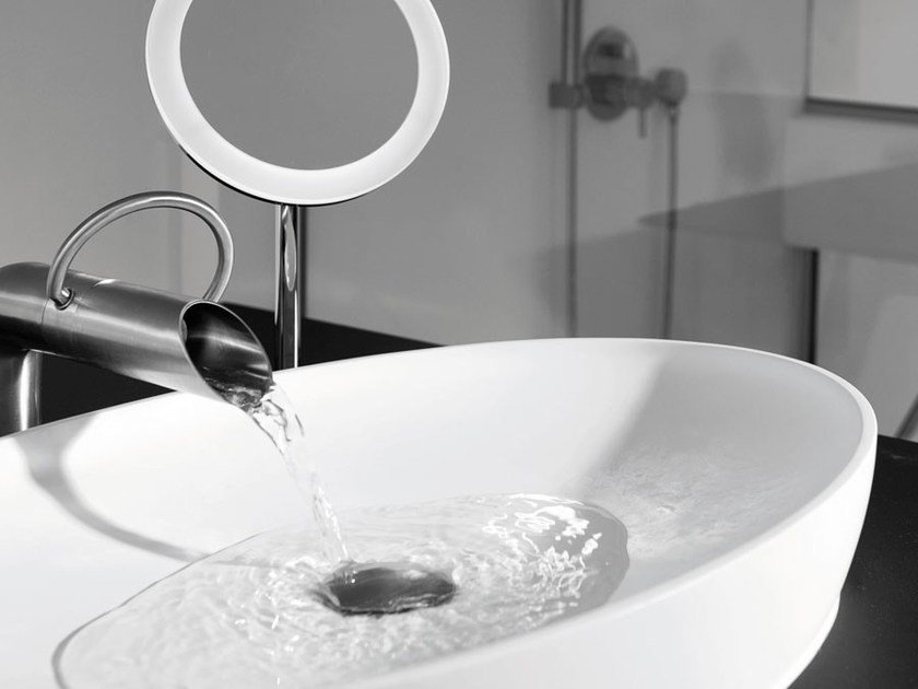 Countertop oval washbasin MAYA - JEE-O