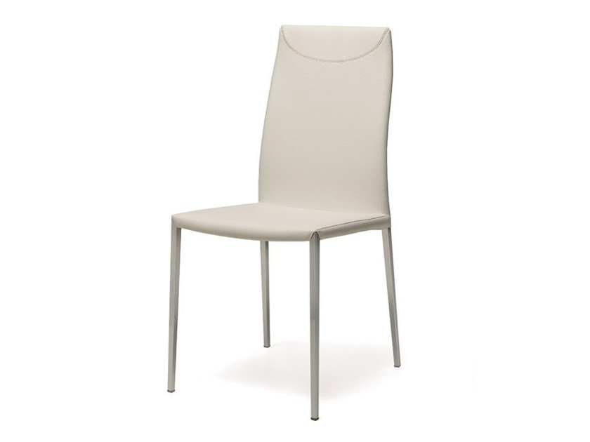 Leather chair MAYA FLEX ML - Cattelan Italia