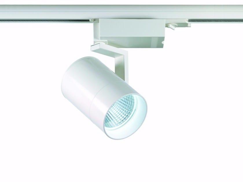 LED die cast aluminium Track-Light MAYA by ROSSINI
