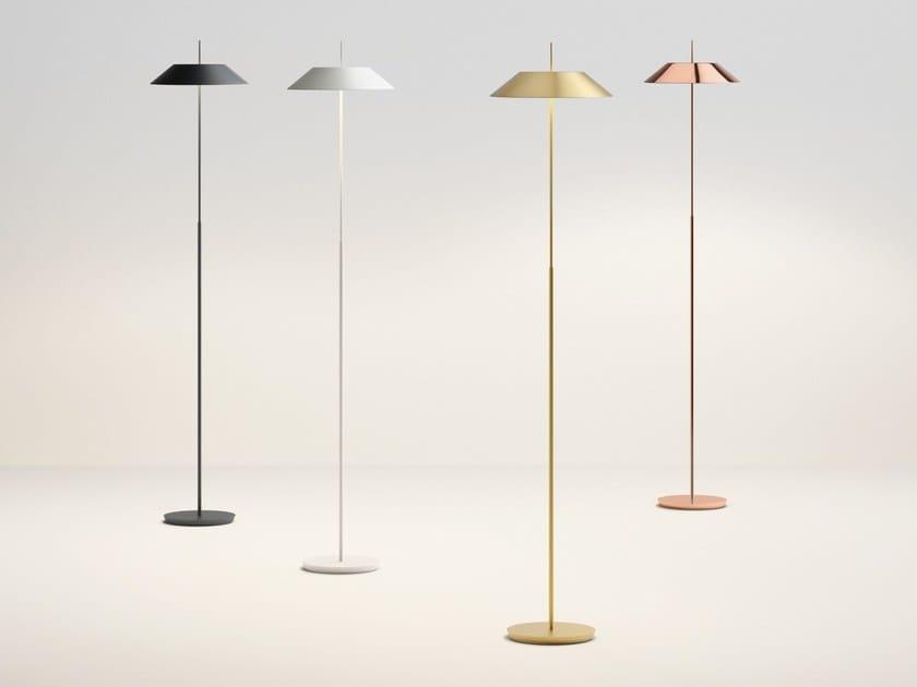LED floor lamp with dimmer MAYFAIR | LED floor lamp - Vibia