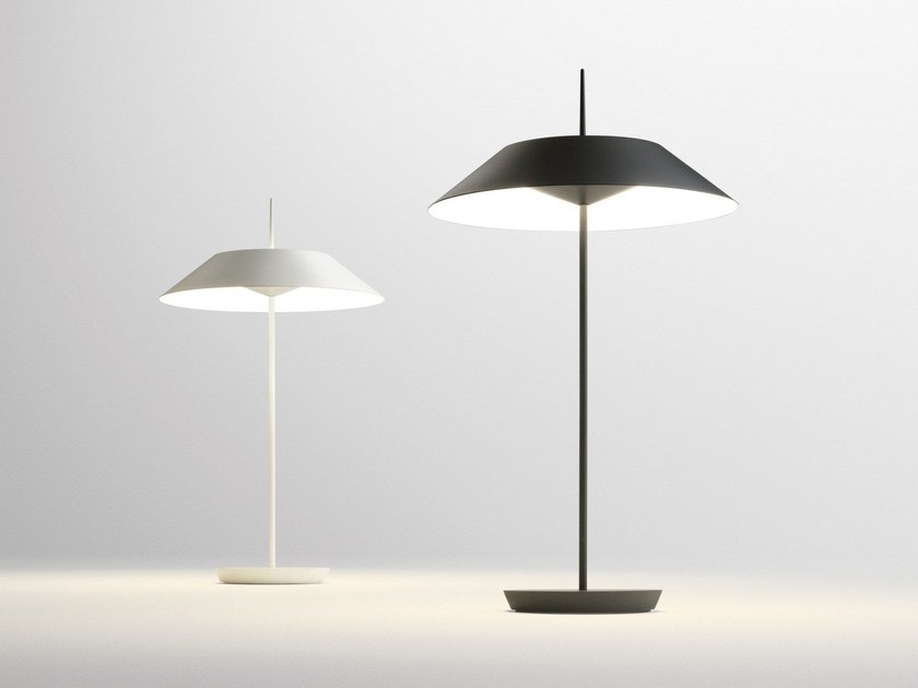 LED table lamp with dimmer MAYFAIR | LED table lamp by Vibia