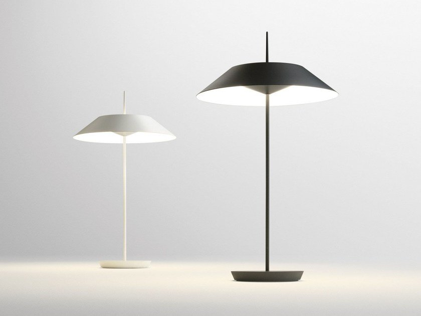LED table lamp with dimmer MAYFAIR | LED table lamp - Vibia