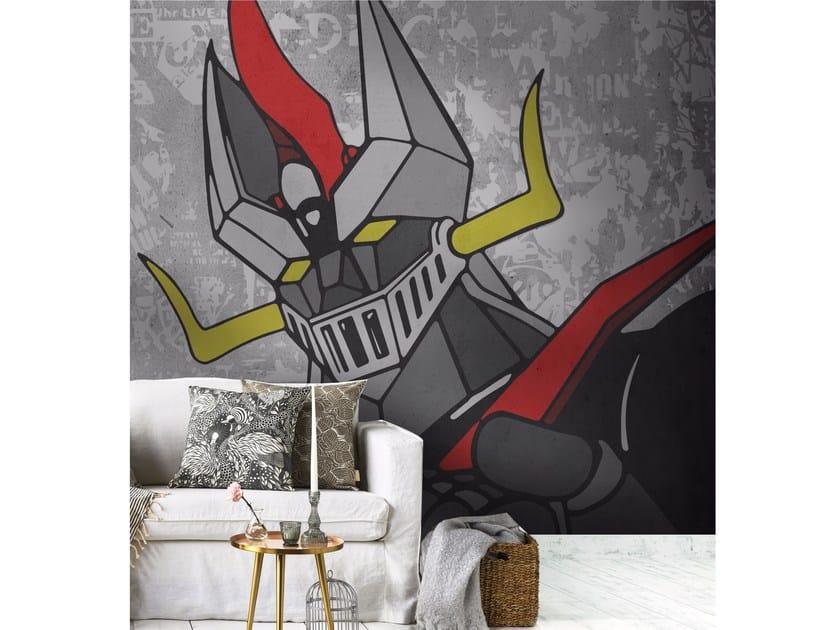 Adhesive washable wallpaper MAZINGA Z by Wall LCA