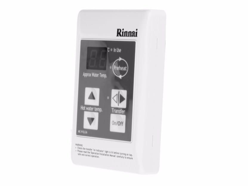 Heat regulation and hygrometric control MC-91Q - Rinnai Italia