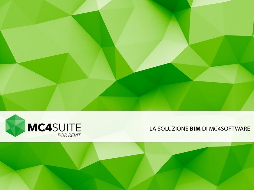 La soluzione BIM di Mc4Software MC4Suite for Revit by mc4software