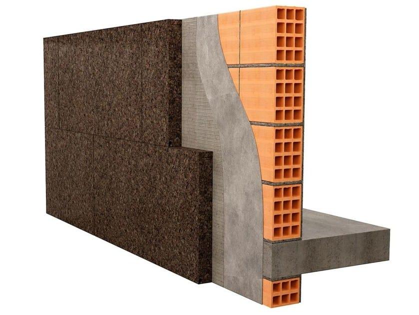 Exterior insulation system MD CORK FACADE - TECNOSUGHERI