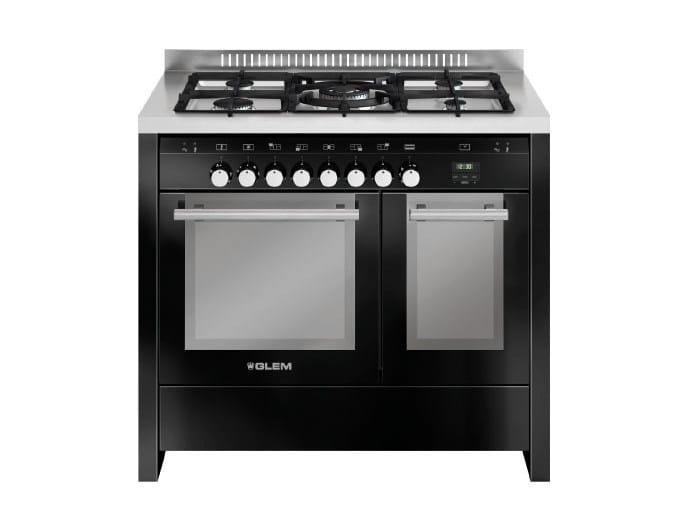 Steel cooker MD112SBL   Cooker by Glem Gas