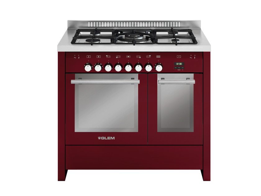 Steel cooker MD112SBR | Cooker - Glem Gas