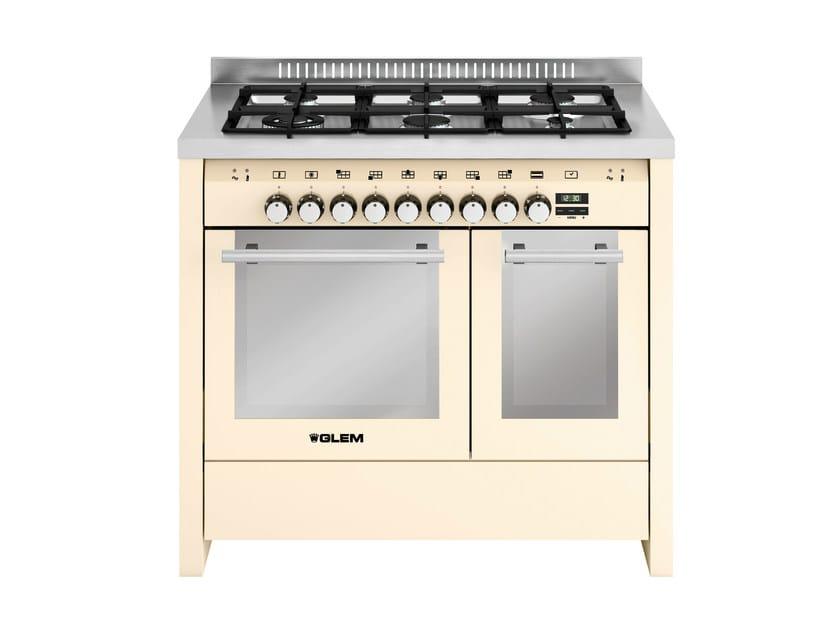 Steel cooker MD122CIV | Cooker - Glem Gas