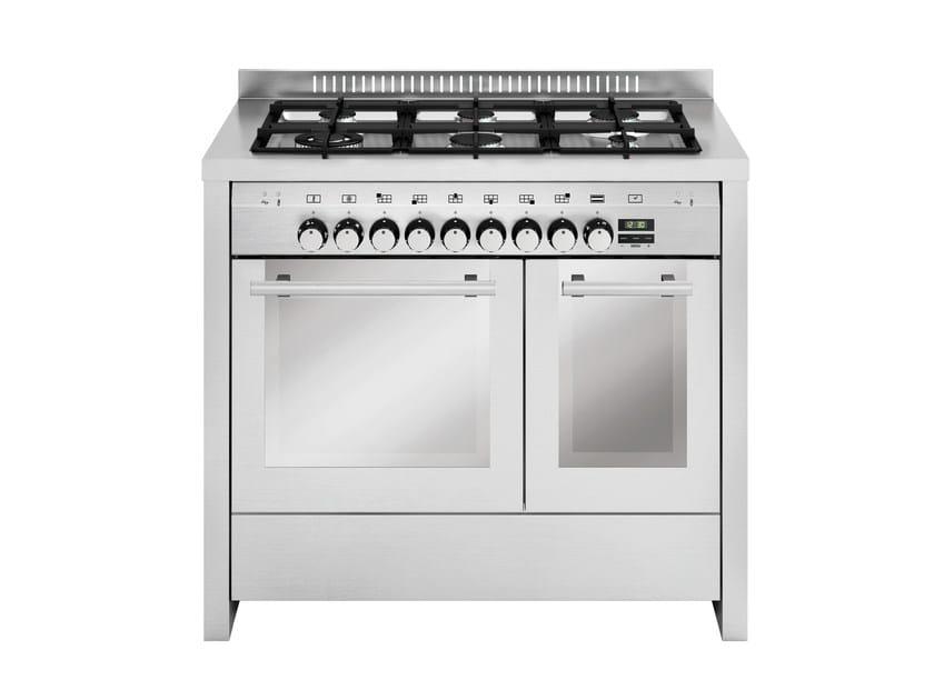 Steel cooker MD122SI | Cooker - Glem Gas