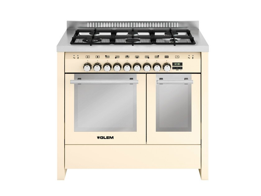 Steel cooker MD122SIV | Cooker - Glem Gas