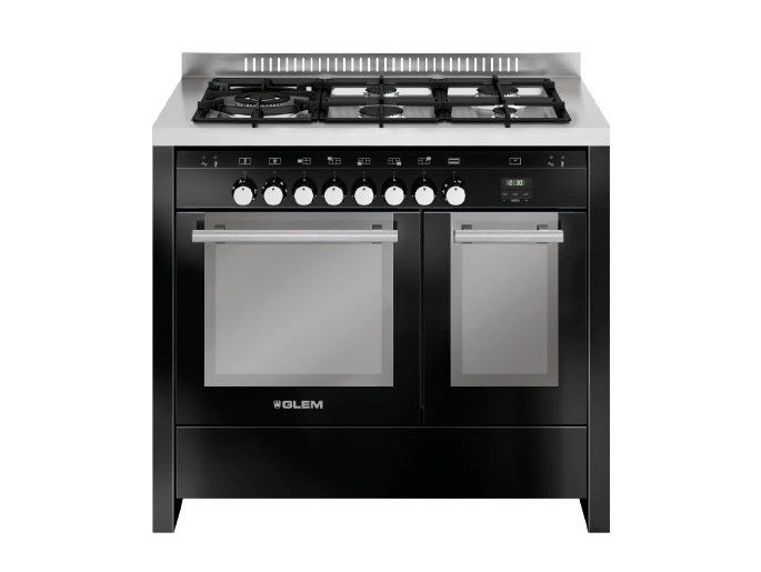 Steel cooker MD144CBL | Cooker by Glem Gas