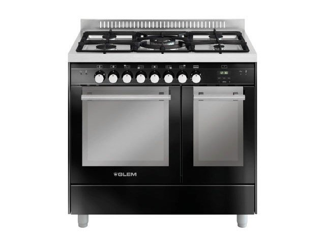 Steel cooker MD912CBL | Cooker - Glem Gas