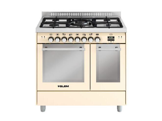Steel cooker MD912CIV | Cooker - Glem Gas