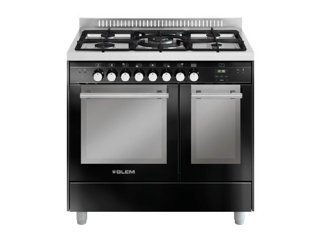 Steel cooker MD912SBL | Cooker - Glem Gas