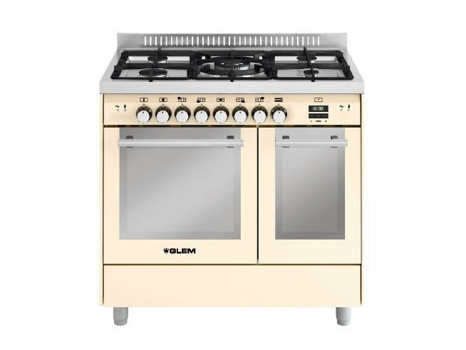 Steel cooker MD912SIV | Cooker - Glem Gas