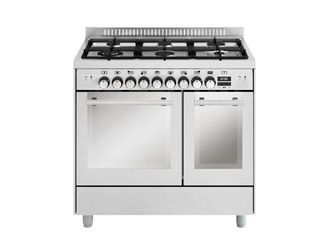 Steel cooker MD922CI   Cooker by Glem Gas