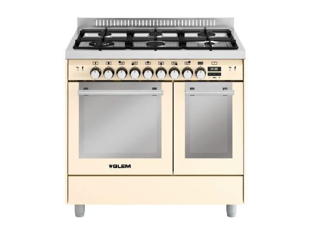 Steel cooker MD922CIV | Cooker - Glem Gas