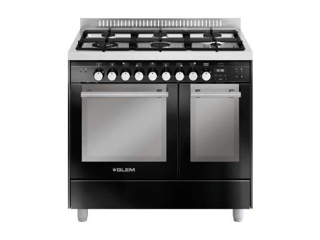 Steel cooker MD922SBL | Cooker - Glem Gas