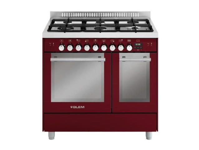 Steel cooker MD922SBR | Cooker by Glem Gas
