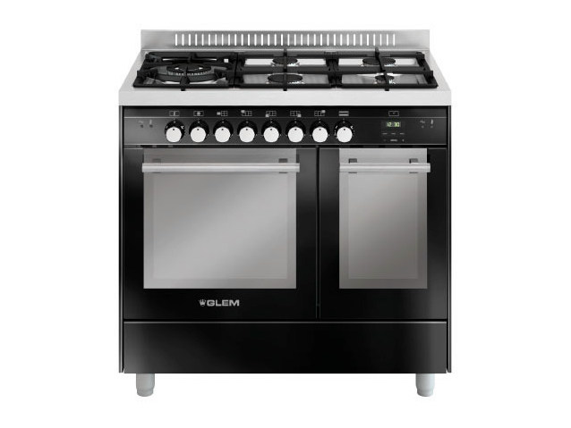 Steel cooker MD944CBL | Cooker by Glem Gas