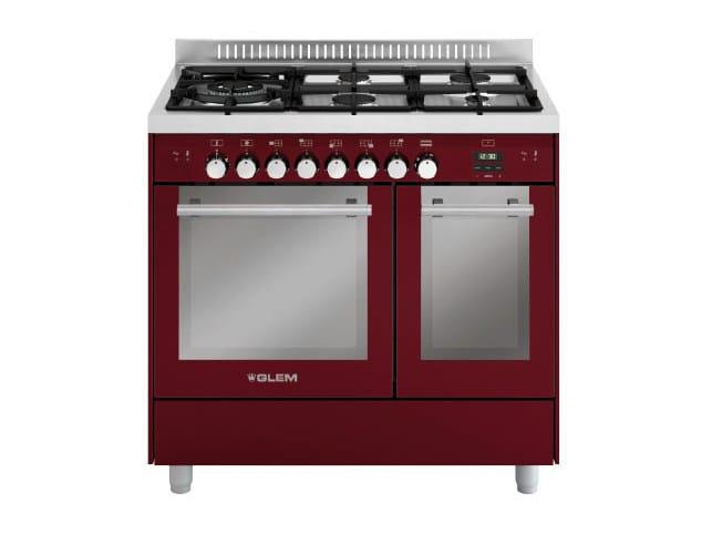 Steel cooker MD944CBR | Cooker - Glem Gas