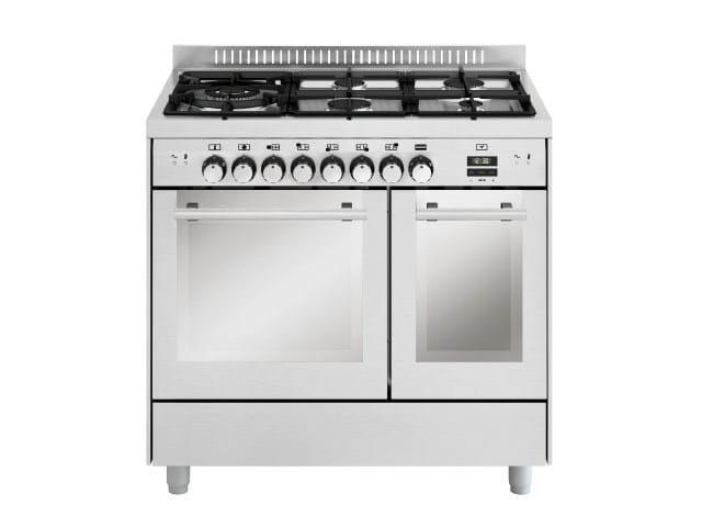 Steel cooker MD944CI | Cooker - Glem Gas