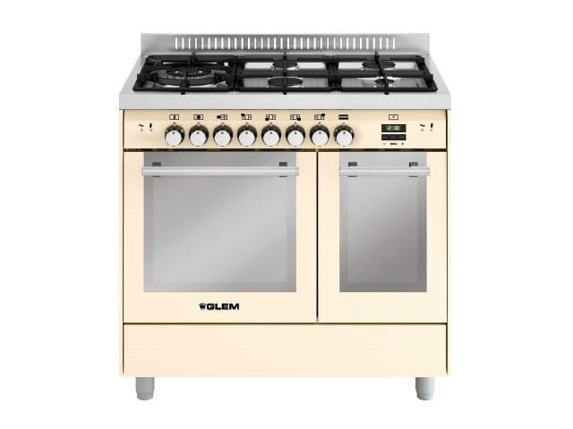 Steel cooker MD944CIV | Cooker by Glem Gas
