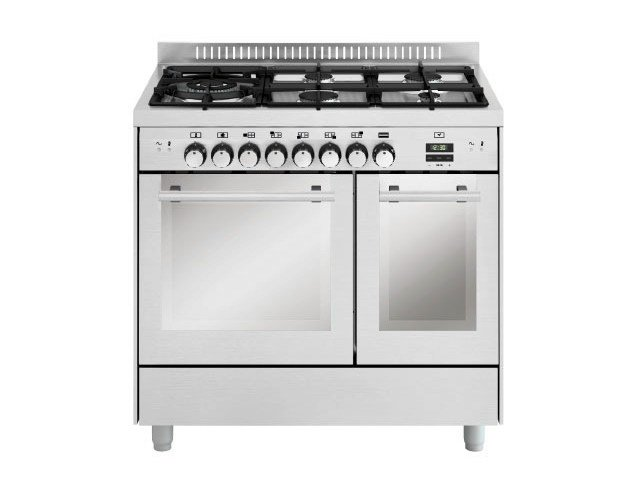 Steel cooker MD944SI | Cooker by Glem Gas