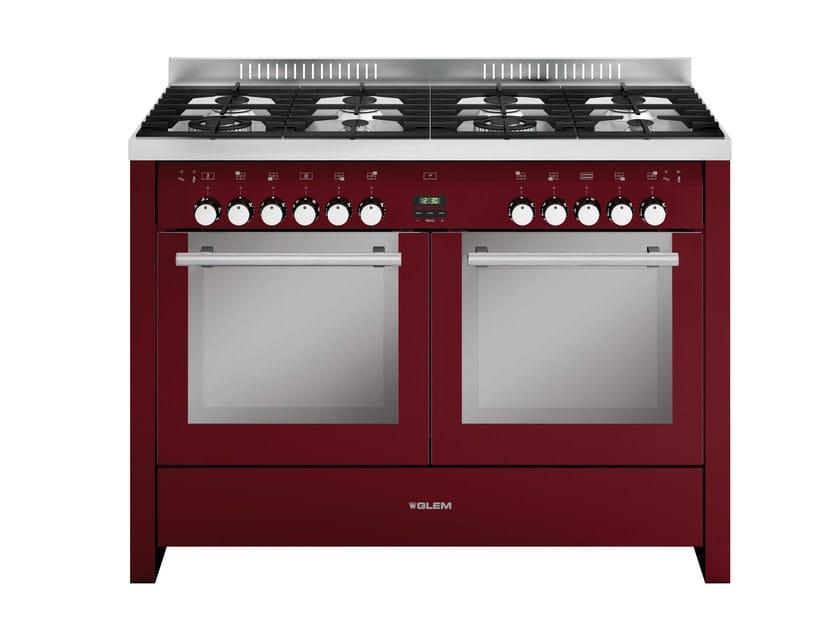 Steel cooker MDW80CBR | Cooker - Glem Gas