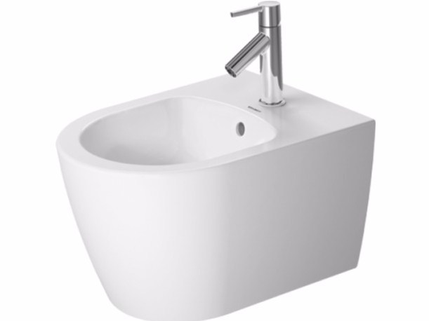 Compact wall-hung bidet with overflow ME | Wall-hung bidet by Duravit