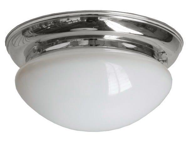 Direct light handmade ceiling light MEATH LARGE FLUSH CEILING LIGHT FITTING - Mullan Lighting