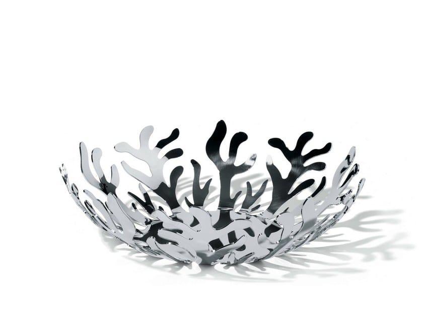 portafrutta in acciaio inox mediterraneo portafrutta
