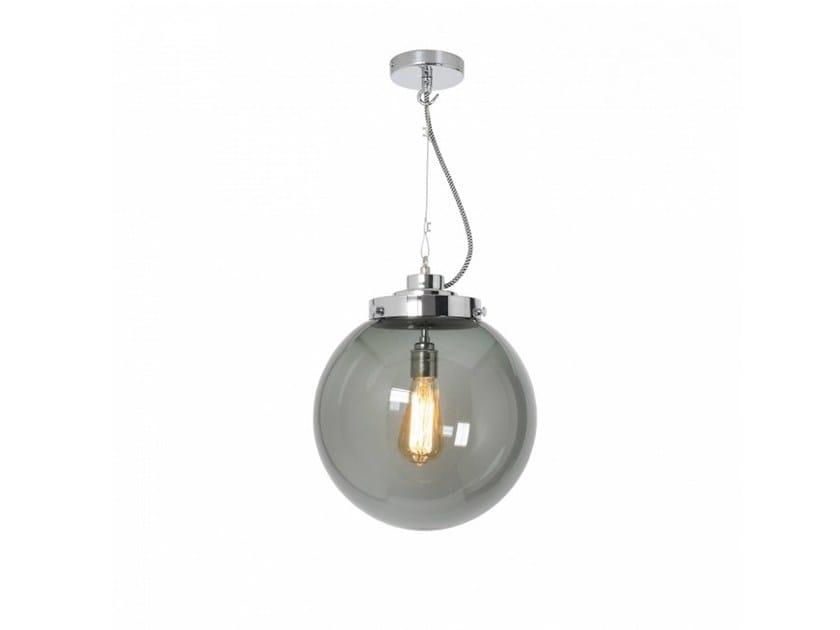 Glass pendant lamp with dimmer MEDIUM GLOBE - Original BTC
