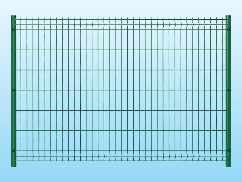 Modular electrically welded mesh Fence MEDIUM GREEN - Siderurgica Ferro Bulloni