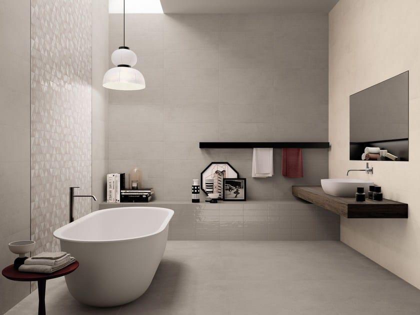 Pavimento rivestimento in gres porcellanato medley supergres - Come piastrellare il bagno ...