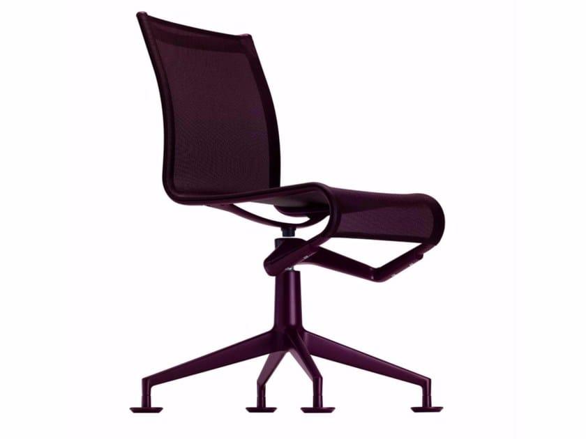 Swivel mesh task chair MEETINGFRAME COLORS - 436_C - Alias