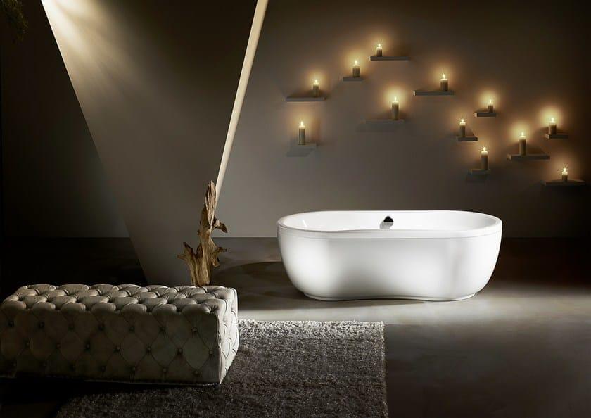 Vasca da bagno a 2 posti ovale mega duo oval kaldewei italia - Vasche da bagno kaldewei ...