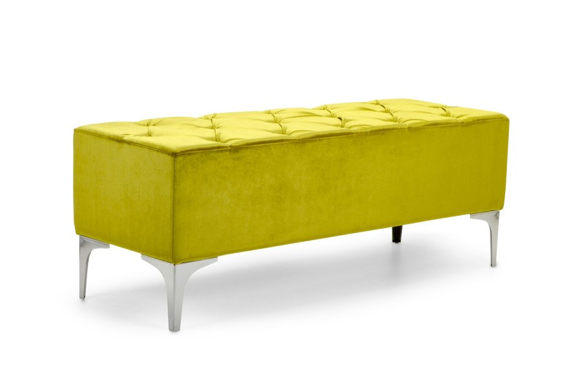 Tufted upholstered fabric bench MEGH | Tufted bench - Domingo Salotti
