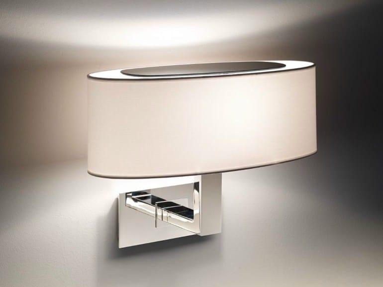 Fabric wall lamp MEI OVAL 02 - BOVER Il. Luminació & Mobiliario