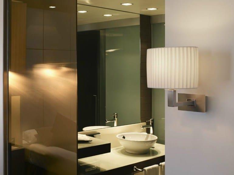 Fabric wall lamp MEI OVAL 01 - BOVER Il. Luminació & Mobiliario