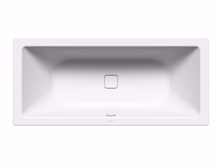 Freestanding rectangular enamelled steel bathtub MEISTERSTÜCK CONODUO - Kaldewei Italia