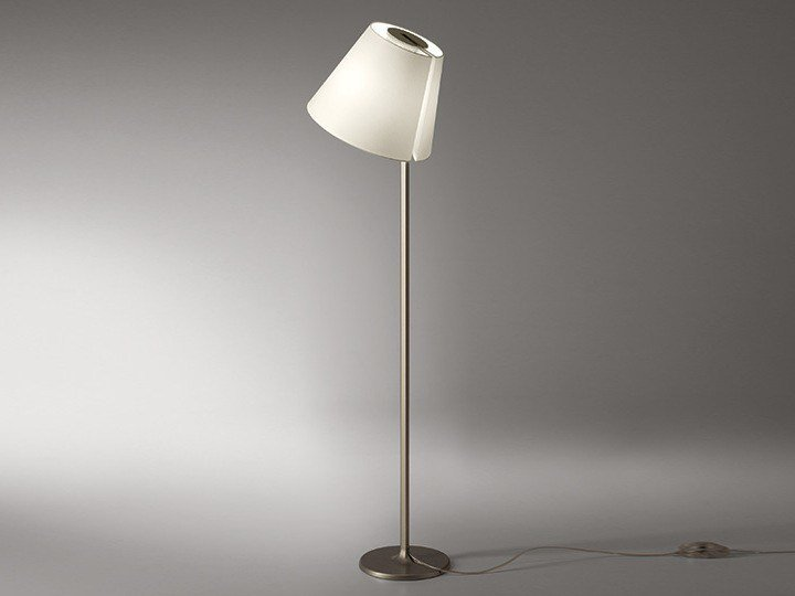 Halogen adjustable floor lamp MELAMPO | Floor lamp - Artemide